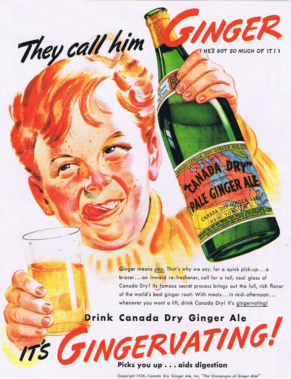 Gingervating?: Especially, Funny, Canada Dry, Vintage Ads, Ginger Ale, Vintage Advertising, Vintage Advertisements