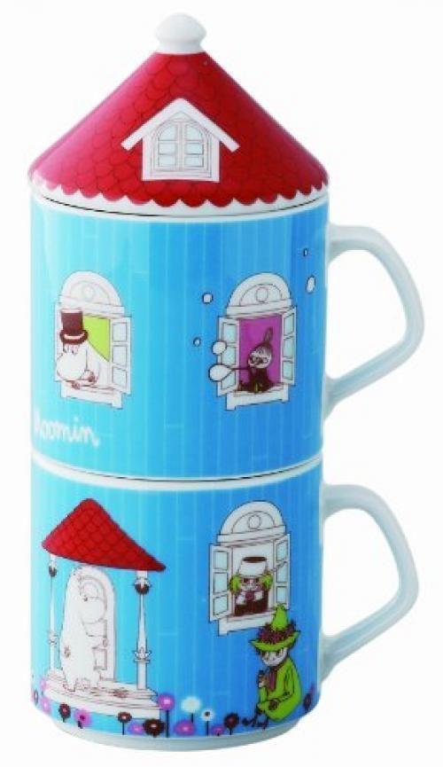 YamaKa shop Moomin House series lid with Peamagu MM710-13F New from Japan