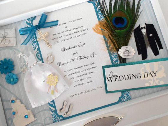Want To Make Us One Of These OUR WEDDING DAY Wedding Invitation Keepsake Box By Theshadowbox
