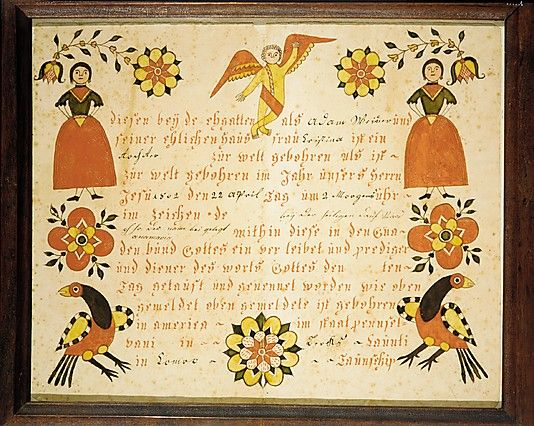 103 best Fraktur images on Pinterest Pennsylvania dutch, Popular - best of good standing certificate pa