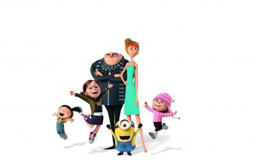Despicable Me 3 Gru Margo Agnes Edith Lucy Wilde Minion