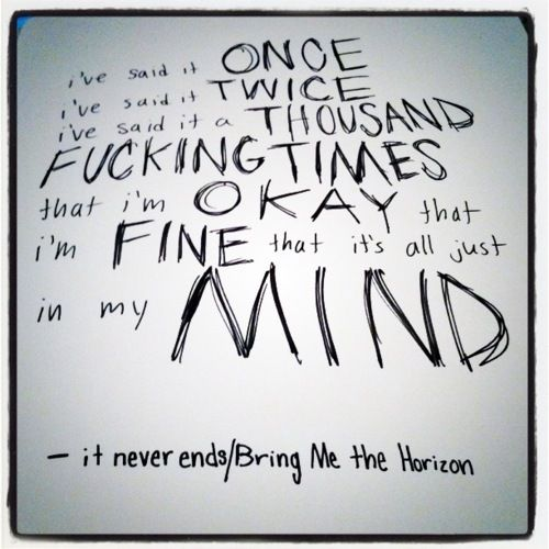Bmth Quotes: 959 Best MUSIC AND BAND STUFF Images On Pinterest