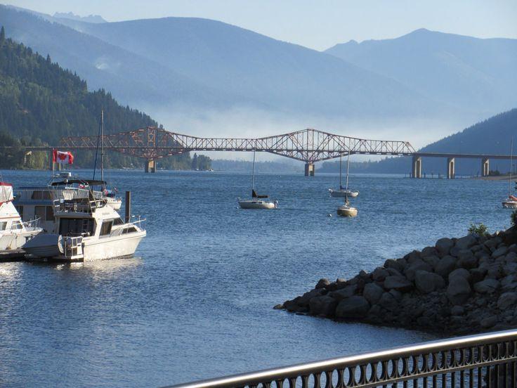 Mist at the bridge