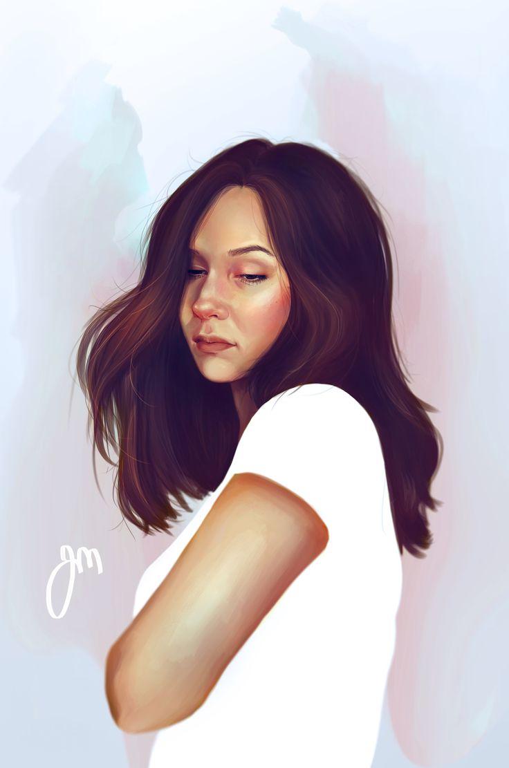Self portrait by Jenniina Martikainen