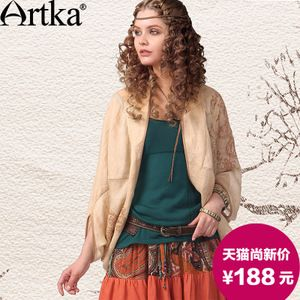 Xin Shang Aka vechi indian broderie 2015 primăvară nou tip liliac vrac sacou de bumbac WA10041R