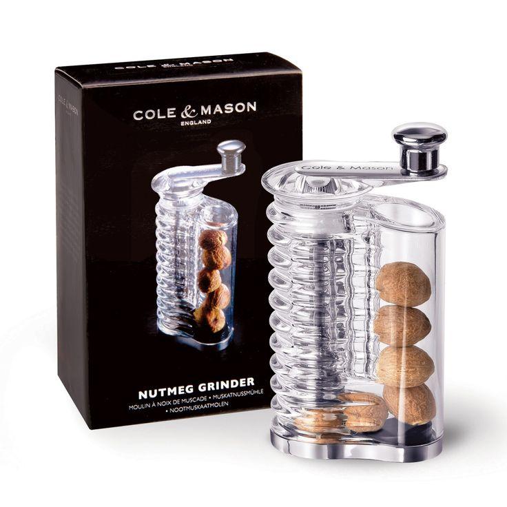 "COLE & MASON ""WALLISER MUSKATMÜHLE"" | Buy @ inhoma24.de #Inhoma #Kuchen #Dekoration #Küchenaccessoires"