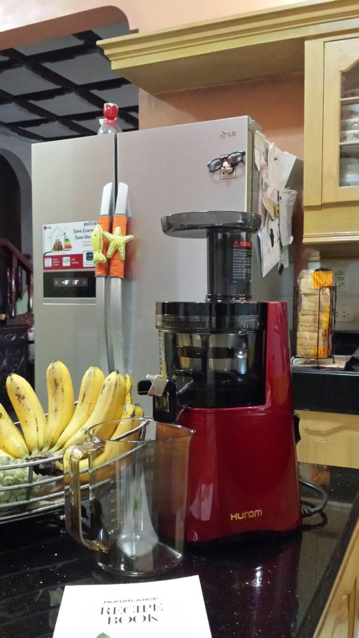 My New Hurom juicer