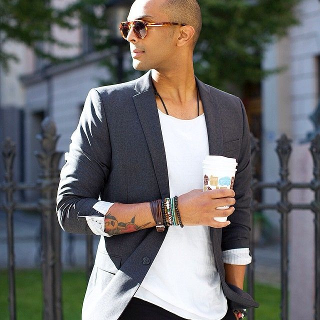 Black dress jacket mens t shirts | Fashion dresses lab