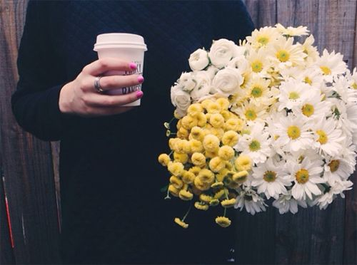 LIVE OFF COFFEE AND FLOWERS -- Blossom & Thorn