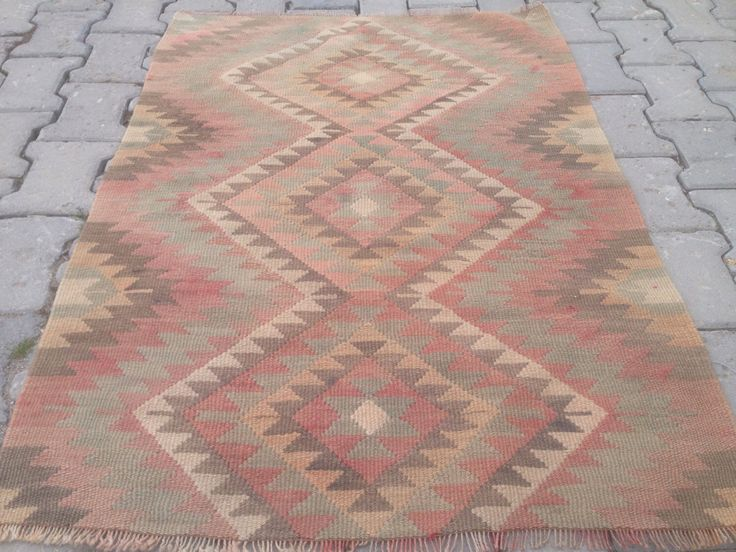 Turkish small rug small rugs vintage rug turkish medium rugs handwoven rugs vintage kilim rug by RugStoreDesigns on Etsy https://www.etsy.com/listing/456312618/turkish-small-rug-small-rugs-vintage-rug