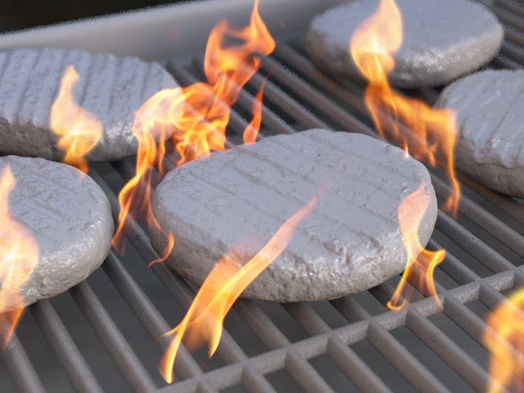 Burger BBQ Clay Render, C4D, CGI, 3D. Scan - https://www.blankrepository.com/
