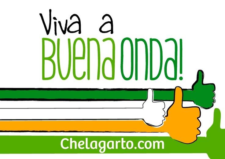 Participem. Criem seus videos, publiquem-nos no Youtube e enviem-nos os links para buenaonda@chelagarto.com