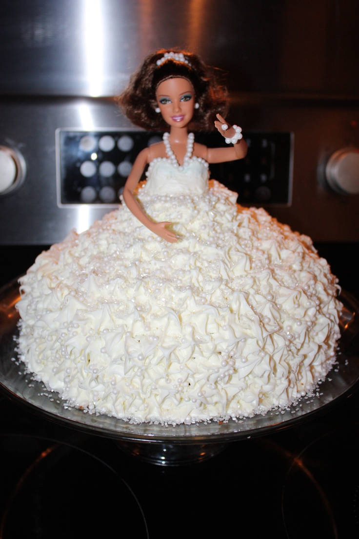 Barbie Cake Bundt Pan