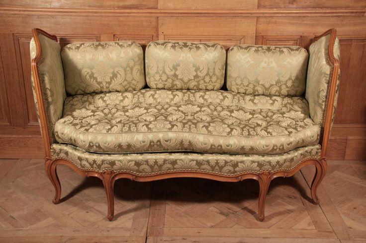 Canap d 39 poque louis xv beau lit de repos ou canap d for Canape for sale