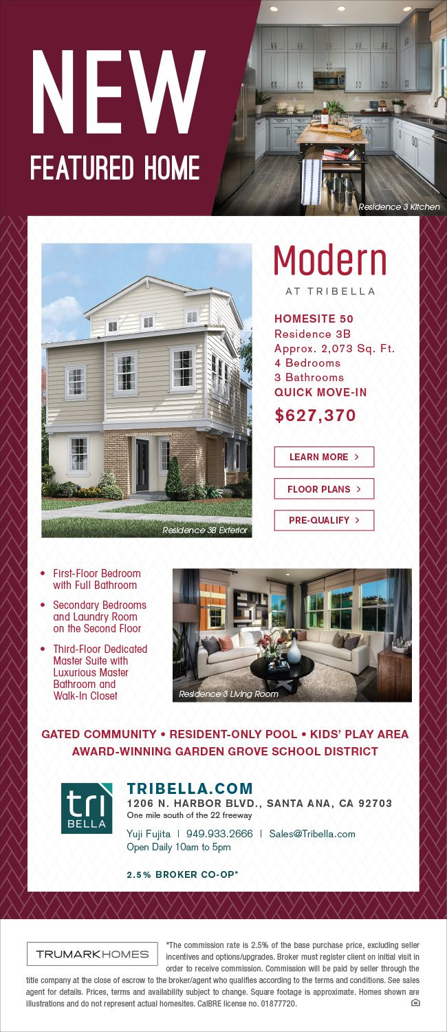new homes for sale in santa ana california quick move in home at tribella - New Homes Garden Grove