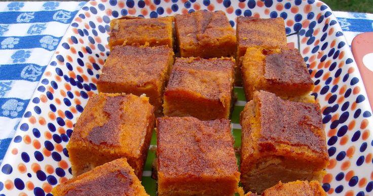 Kürbiskuchen-Snickerdoodle-Riegel – Kürbiskuchen-Riegel mit einer leckeren …