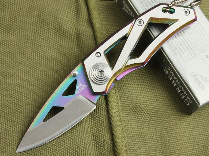 yet another cool Gerber (Pocket Saber Folding Knife 52 Camping Hunting knife)
