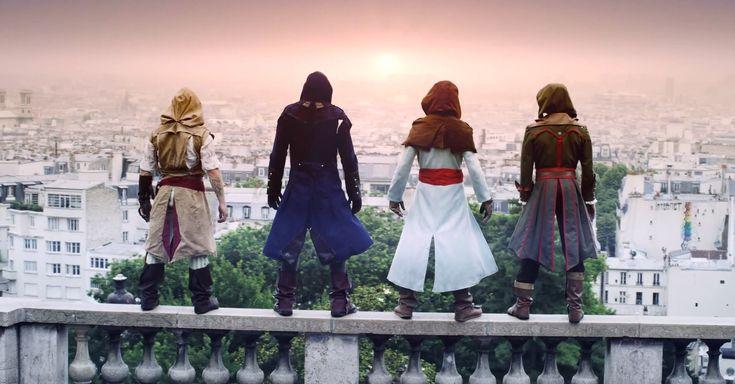 JOGOS | Assassin's Creed na vida real? Parkour espetacular!