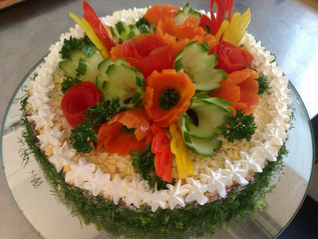 Inspiration Pic -  Sandwich Cake