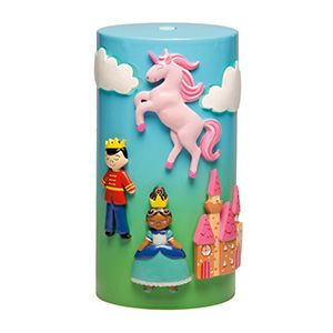 Once Upon a Time - Scentsy Diffuser Shade -  Step inside an enchanted world, where a princess tames a darling dragon as her prince guards the castle. Or maybe they all enjoy a picnic in the meadow?