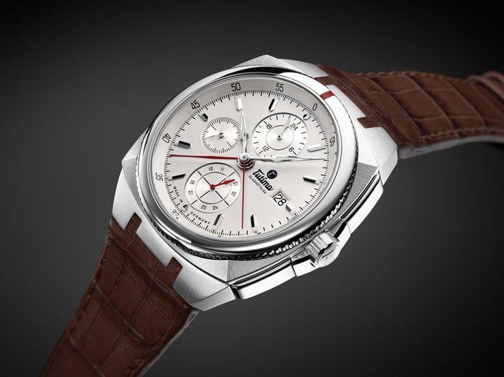 Tutima: Saxon One mit hellbraunem Alligatorlederband » Das Uhren Portal: Watchtime.net