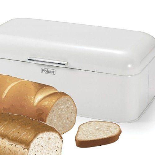 Amazon.com Polder KTH-916201 Retro Bread Box/Bin White  sc 1 st  Pinterest & 95 best Bread Boxes images on Pinterest | Bread boxes Breads and ... Aboutintivar.Com
