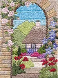 Cottage long stitch