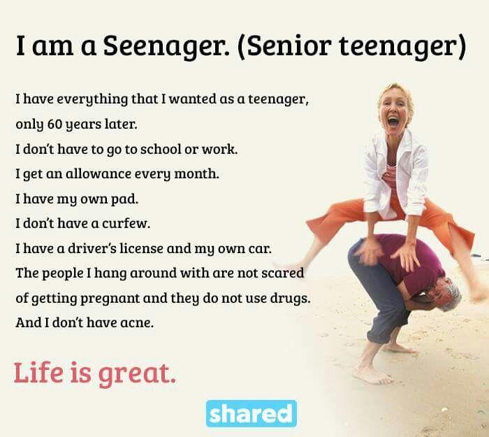 Senior teenaget