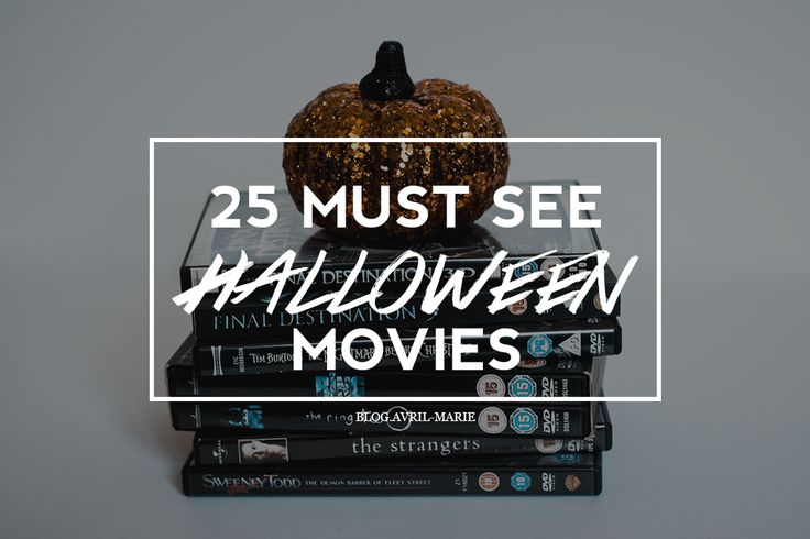 Fall is here! Which can only mean it's time to get out your cosy jumpers, grab your pumpkin spice lattes and sit inside with popcorn and Halloween movies. I've decided to create a blog post of some scary, and not-so scary movies to get you in the mood for Halloween this year.