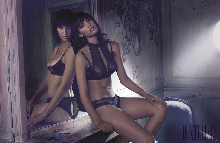 Valisère - Lingerie - Spring-summer 2014 - http://en.dentell.es/fashion/lingerie-12/l/valisere-4014