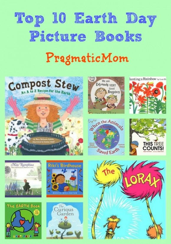 Top 10 Earth Day Picture Books :: PragmaticMom