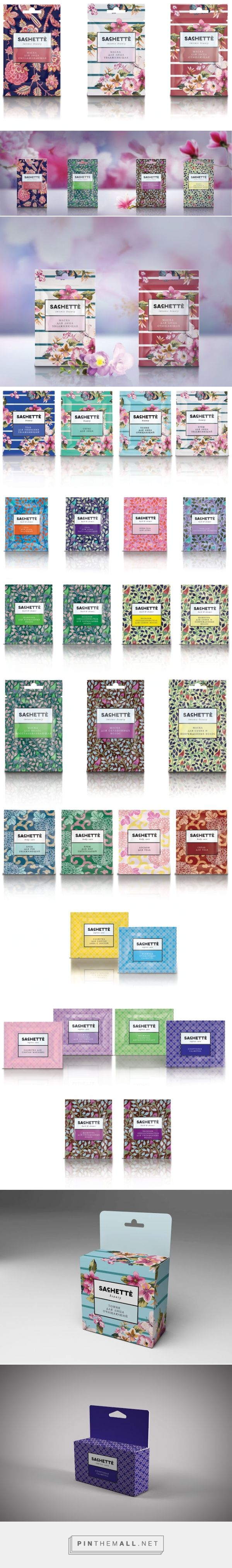 SACHETTE  / selected collection of cosmetics. So pretty and so popular PD