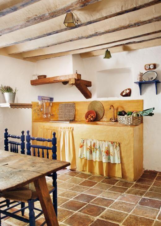 Casa y Campo - Cocinas bien distribuidas