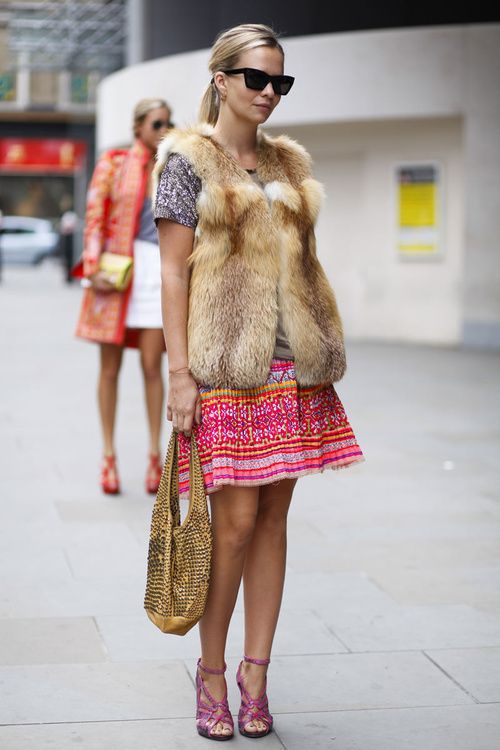 Glam Street Style
