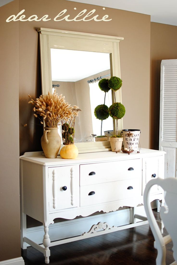 45 best My home images on Pinterest | White buffet cabinet, Buffets ...