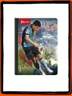 Cuaderno James Rodríguez