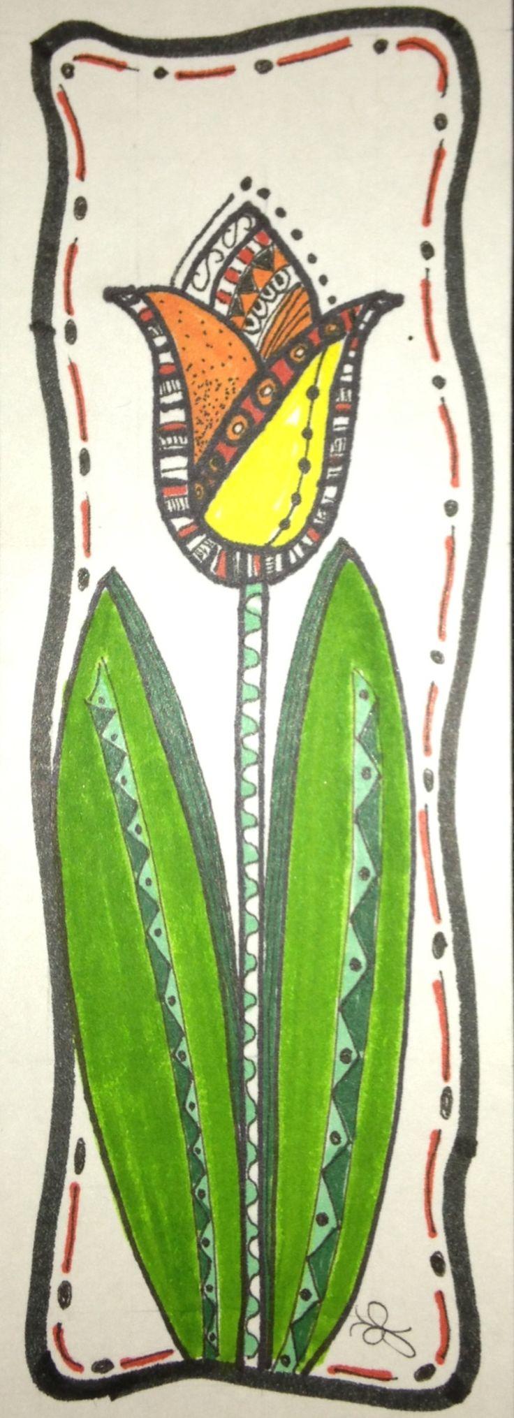 My Zen Tangle / Doodle Art