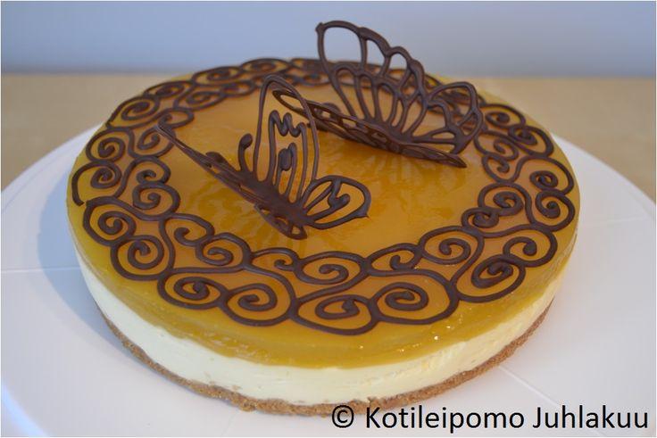 Mango quark cake