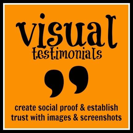 Visual Testimonials - Create Social Proof with Images & Screenshots  - www.sociallysorted.com.au