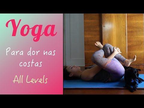 Nervo Ciático - 4 Posturas de Yoga para Aliviar as Dores no Nervo Ciático - YouTube