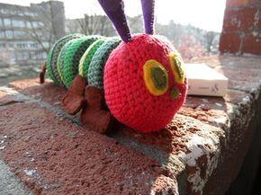 Amigurumi Caterpillar : 26 best caterpillars images on pinterest knitting patterns