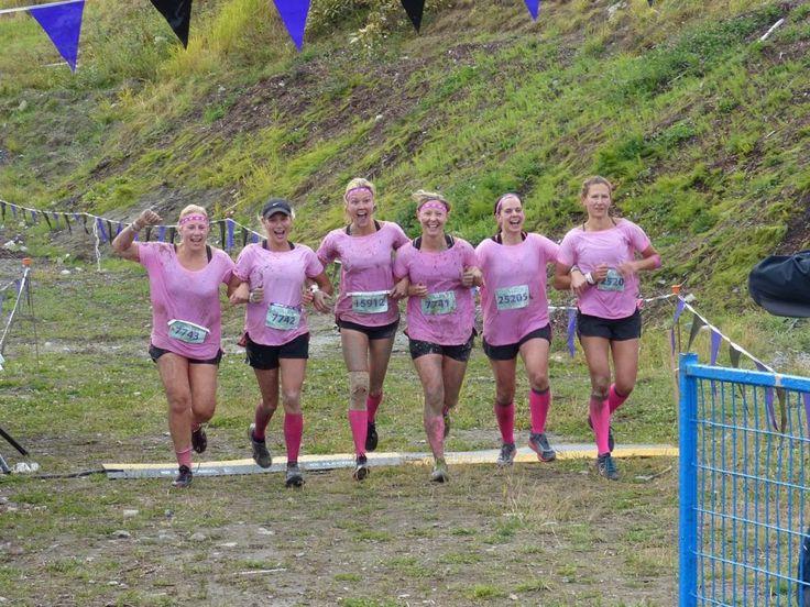 Finalists at the 2015 Mudderella Race