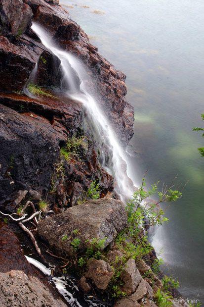 Man O'War Brook Falls - Acadia National Park, Maine