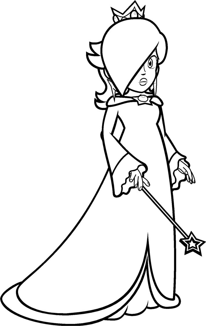 Rosalina Mario Coloring Pages To Print Mario Coloring Pages Coloring Pages Coloring Pages To Print