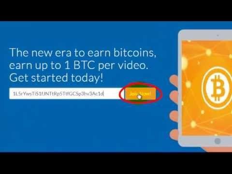 """Регистрация и начало работы в проекте """"BitcoinTube"""""""