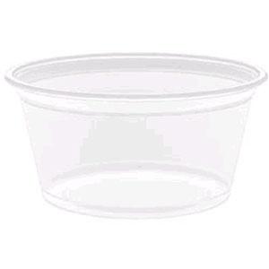 Dart 200PC 2 oz. Plastic Souffle / Portion Cup 125 / Pack
