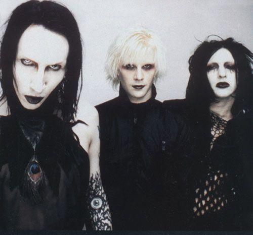 Marilyn Manson, John 5, and Twiggy Ramirez. <3
