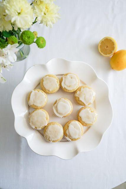 Lemon muffins (vegan)