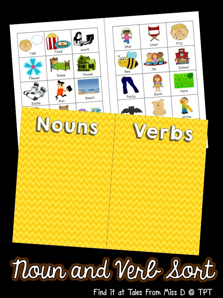 In this activity, students sort the nouns from the verbs. This is perfect as a center activity or for teaching ESL students. Comes with a worksheet in both British and American Spelling.
