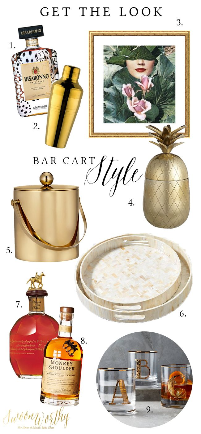Bar Cart Style - Get the Look